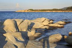 Bay of Caridi beach in Vourvourou. - stock photo
