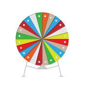 wheel of fortune - stock illustration