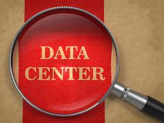 Data Center through Magnifying. Piirros