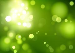 Green Bokeh Background - stock illustration