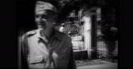 American prisoner of war talking Stock Footage