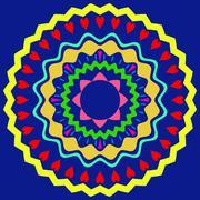 Stock Illustration of mandala ornament generated texturemandala ornament generated texture