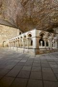 Stock Photo of romanesque cloister