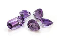 Group of Amethyst Stock Photos