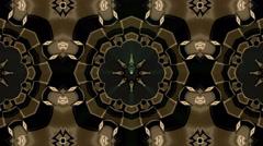 Looping Kaleidoscope Patterns - 4K Resolution Ultra HD Stock Footage