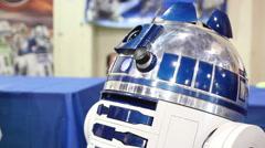 Artoo Detoo at Maker Con Stock Footage