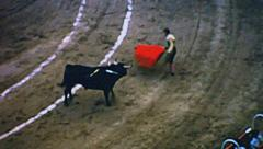 Barcelona 1969: bullfighting at the Monumental Stock Footage