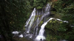 Panther Creek Falls, Gifford Pinchot National Forest, Washington Stock Footage
