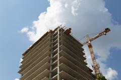 Building of multistory House Kuvituskuvat