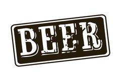 Beer design over white background vector illustration Stock Illustration