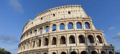 Roman Coliseum - stock photo