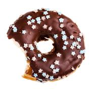 Stock Photo of eat the donut