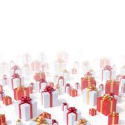 presents background - stock illustration