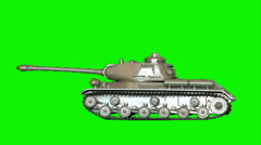 Toy-tank 7 Stock Footage