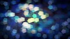 Blurred Light Bokeh Holiday Background Stock Footage