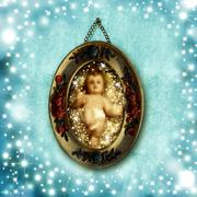 Child jesus christmas cards Piirros
