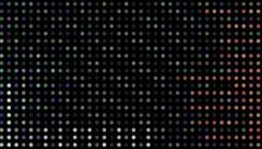 Stock Video Footage of Led vj loop color circles strobe Background