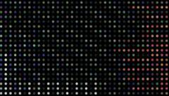 Led vj loop color circles strobe Background - stock footage