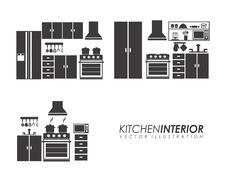 appliances design over white background, vector illustration - stock illustration