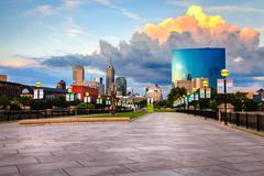Indianapolis skyline Kuvituskuvat