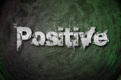 Stock Illustration of positive thinking concept