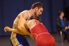 The duel in wrestling Kuvituskuvat