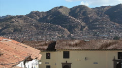 Cuzco, Peru - City View - 2014 Stock Footage