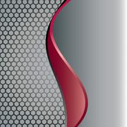 abstract metal background - stock illustration
