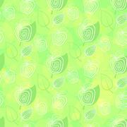 Fresh apple. Seamless pattern. - stock illustration