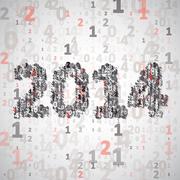 Stock Illustration of New Year celebration illustration