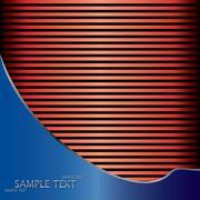 abstract background, metallic brochure - stock illustration