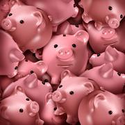 savings choice - stock illustration