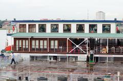 Phnom penh autonomous port, in cambodia Stock Photos