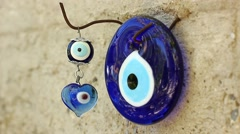 Amulet against the evil eye Stock Footage