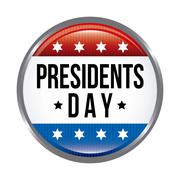 presidents day background, united states. vector illustration - stock illustration
