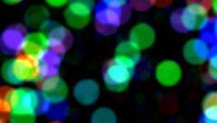 Moving / Zooming color Dots / bubbles - motion graphic Stock Footage