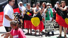 Aboriginal G20 protest in Brisbane 51 Kuvituskuvat