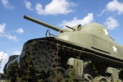 Sherman tank Stock Photos