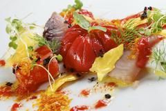 Tomato salad Stock Photos