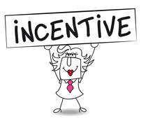 incentive with penelope - stock illustration