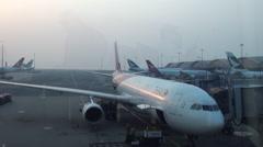 Airport Hong Kong 2013-Dan Stock Footage