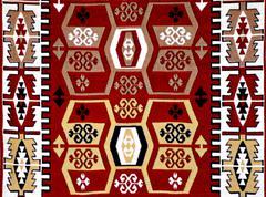 Turkish carpet pattern with motifs Kuvituskuvat