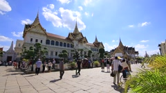 Thailand palace Stock Footage
