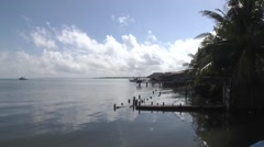 Puerto Barrios, Guatemala - stock footage