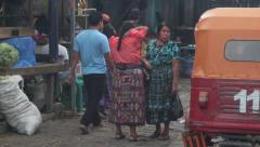 San Pedro La Laguna, Atitlan, Guatemala Stock Footage
