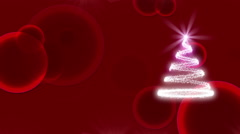 christmas, happy new year, abstract background, loop - stock footage