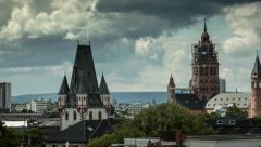 Mainz - Dom (timelapse) - stock footage