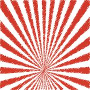 Vector abstract background ofred star burst . Stock Illustration