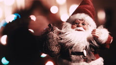 SANTA CLAUS is coming Stock Footage