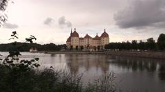 Castle of Morizburg Stock Footage